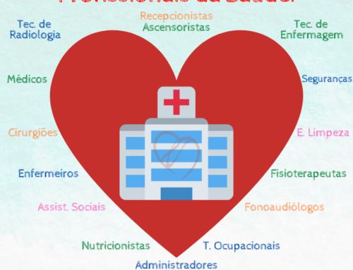 Todo Amor aos Profissionais da Saúde!
