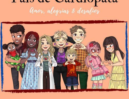 """Dra. Vanessa Guimarães lança o livro """"Pais de Cardiopata"""""""
