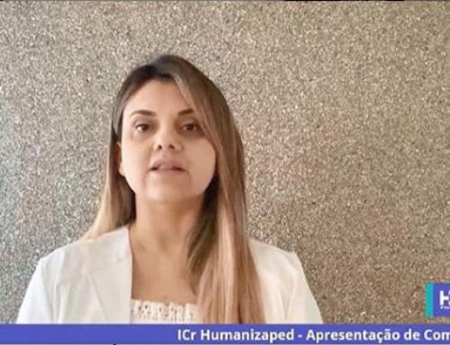 Dra. Vanessa Guimarães no Simpósio de Humanização no Atendimento Pediátrico