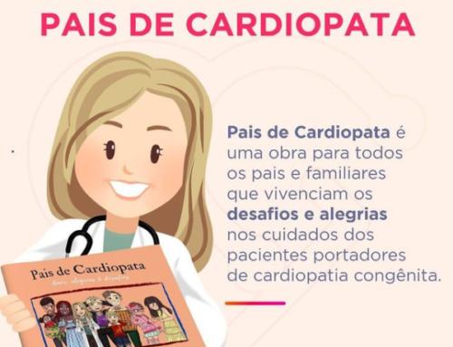 Que tal dar um livro neste natal? Pais de Cardiopata e Eu Cardiopata te aguardam!